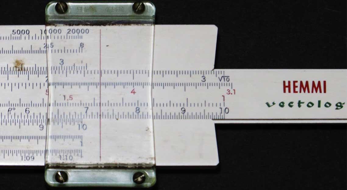slide rule/計算尺